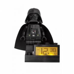 Lego Часы Lego Star Wars Будильник Минифигура Darth Vader 9004049