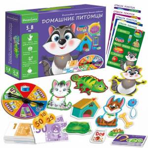 Vladi toys Настольная игра Домашние питомцы