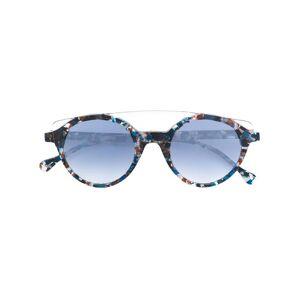 Res Rei круглые солнцезащитные очки с узором Res Rei