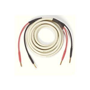 Ecosse Cables ES2.3 med banankontaker 2 x 3 meter Vit