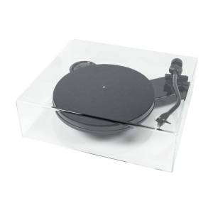 Pro-Ject RPM 3 Carbon + Cover it skyddslock Svart