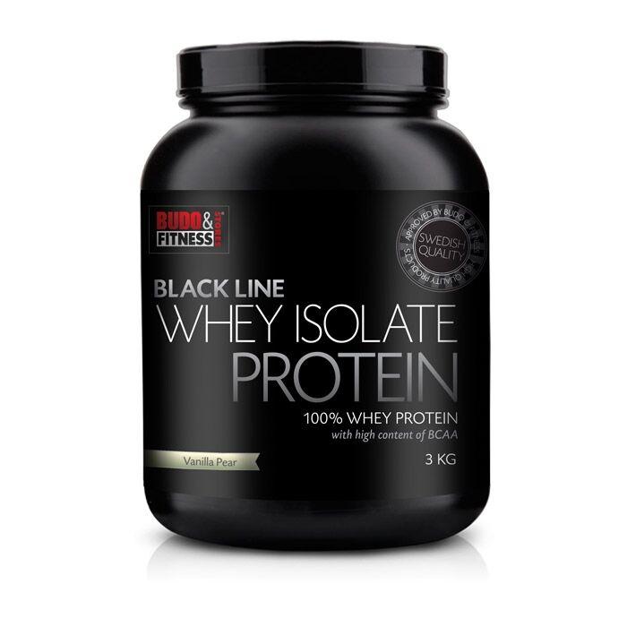 Budo & Fitness Black Line 100% Whey Isolate 3kg