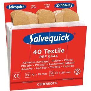 Salvequick Textilplåster 6444 6x40-Pack, Refill