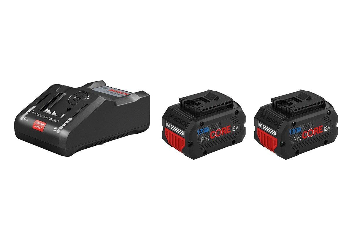 Bosch Batteri & Snabbladdare Startpaket Procore 18v Med 2st 8ah & Gal18v-160