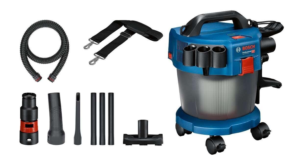 Bosch Dammsugare Gas 18v-10 Med Tillbehörssats