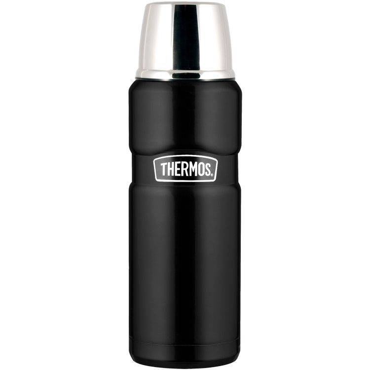 Thermos Termos King 1,2 L Matt Svart