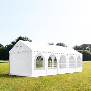 taltpartner.se Partytält 4x10m PVC 550 g/m² vit vattentät