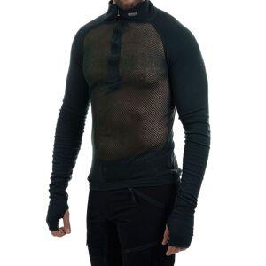 Brynje Arctic Zip Combatshirt - Tröjor - Grön - XXL