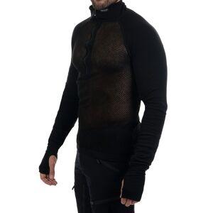 Brynje Arctic Zip Combatshirt - Tröjor - Svart - XXL