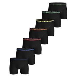 Björn Borg Solid Multi Sammy 7pk - Boxershorts - Black Beauty - XL