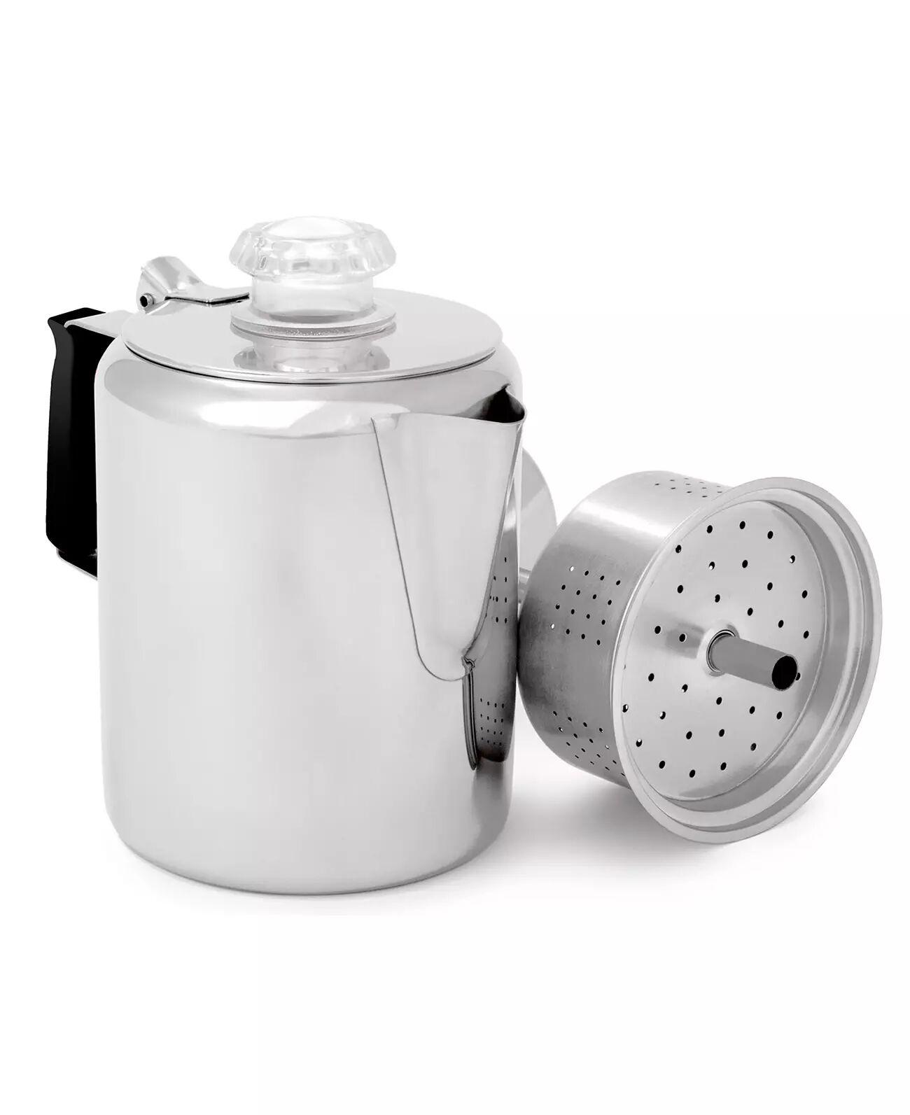 GSI Outdoors Glacier Stainless 3 Cup Perc - Kaffeperkulator