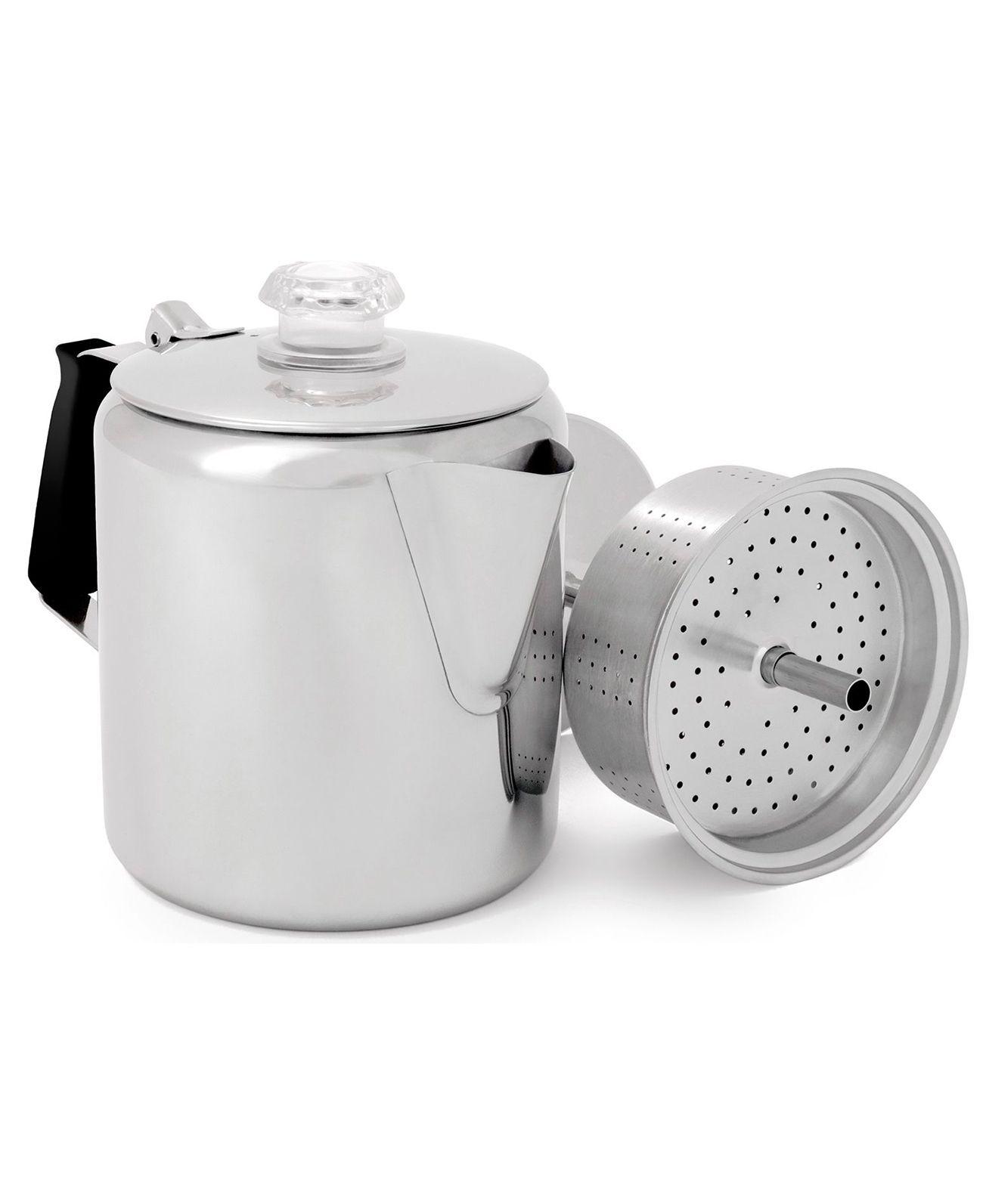 GSI Outdoors Glacier Stainless 6 Cup Perc - Kaffeperkulator