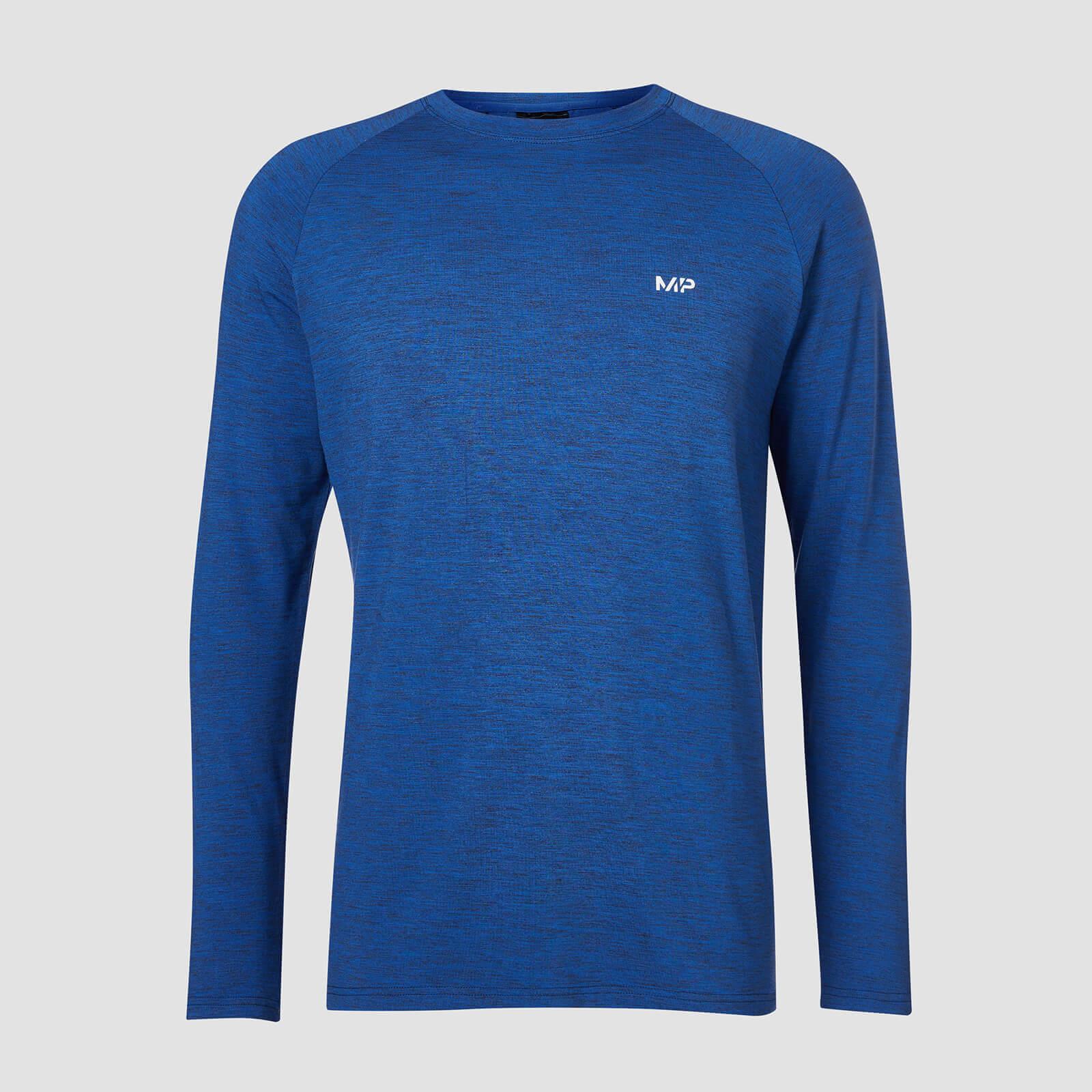 Myprotein MP Performance Long Sleeve T-Shirt - Blå/Svart - XXL