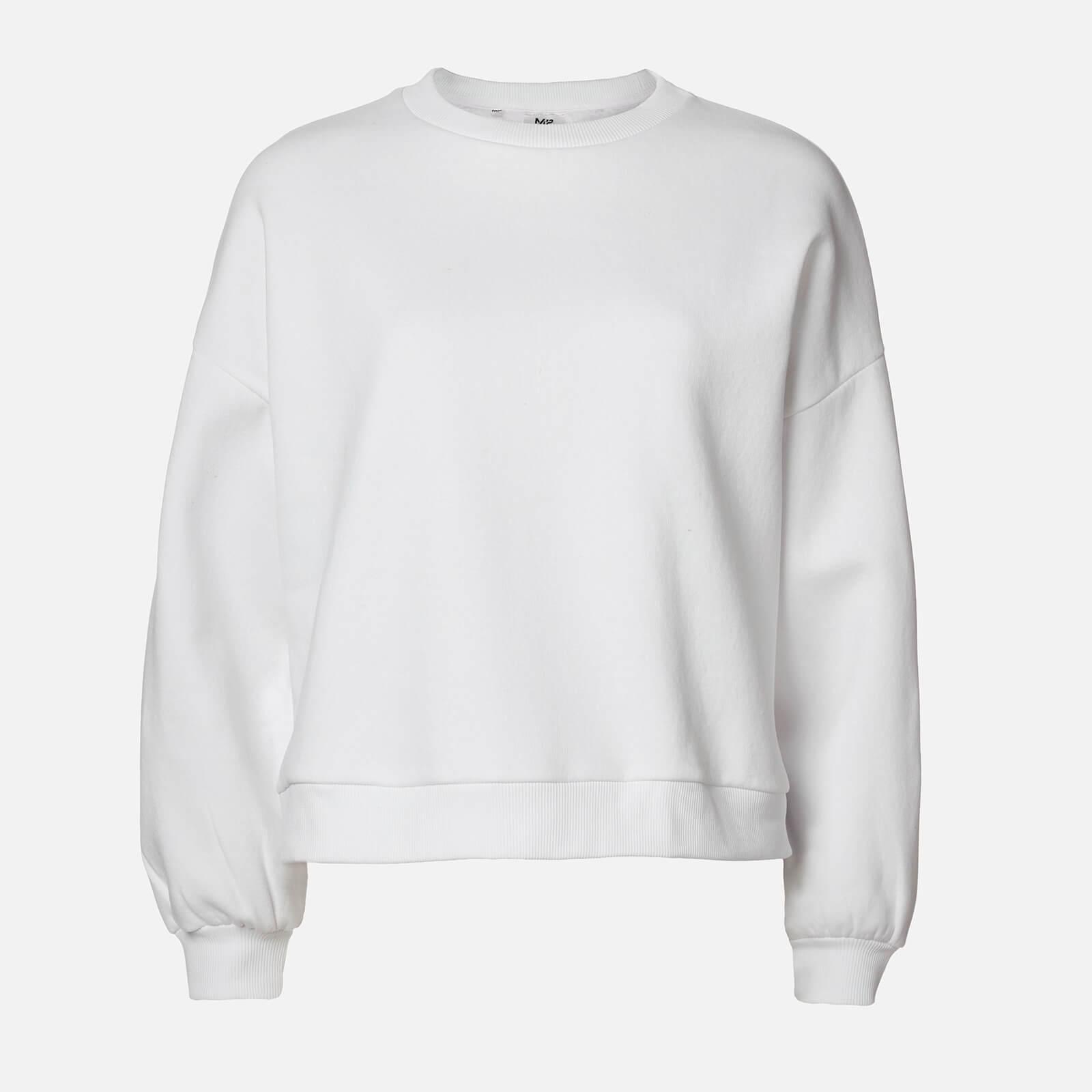 Myprotein Oversized Sweatshirt - Vit - XS