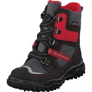 Superfit Husky Gore-tex® Black/red, Skor, Kängor och Boots, Varmfodrade kängor, Svart, Barn, 21