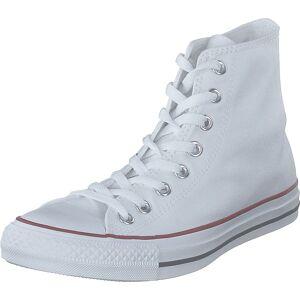 Converse All Star Canvas Hi Optical White, Skor, Sneakers och Träningsskor, Höga sneakers, Vit, Unisex, 42