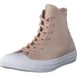 Converse Chuck Taylor All Star Particle Beige/silver/white, Skor, Sneakers och Träningsskor, Höga sneakers, Beige, Brun, Dam, 37