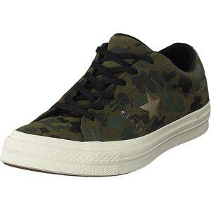Converse One Star Herbal/light Gold/egret, Skor, Sneakers och Träningsskor, Låga sneakers, Beige, Brun, Grön, Dam, 37