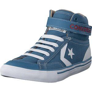 Converse Pro Blaze Strap - H Aegean Storm/vintage Khaki, Skor, Sneakers och Träningsskor, Chukka sneakers, Blå, Barn, 34