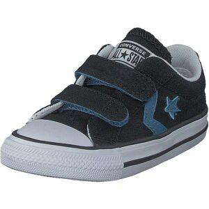 Converse Star Player 2v - Ox Black/aegean Storm/white, Skor, Sneakers och Träningsskor, Sneakers, , Barn, 22