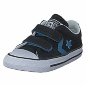 Converse Star Player 2v - Ox Black/aegean Storm/white, Shoes, vit, EU 23