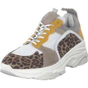 Pavement Mynthe Leopard Suede, Skor, Sneakers och Träningsskor, Sneakers, Brun, Dam, 40