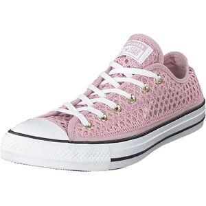 Converse Chuck Taylor All Star Ox Plum Chalk/white/black, Skor, Sneakers och Träningsskor, Låga sneakers, Rosa, Vit, Dam, 39