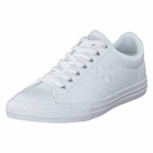 Converse Star Player Ev White/white/white, Shoes, vit, EU 30