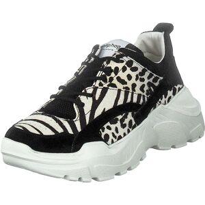 Philip Hog Amanda Zebra, Skor, Sneakers och Träningsskor, Sneakers, Brun, Dam, 36
