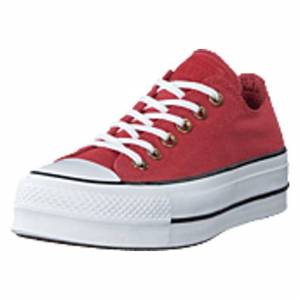 Converse Chuck Taylor Lift Ox Light Redwood, Shoes, rosa, EU 39