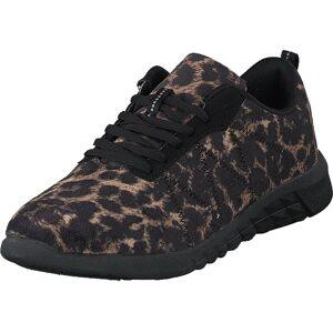 Duffy 70-37804 Black Brown, Skor, Sneakers och Träningsskor, Sneakers, Brun, Dam, 38