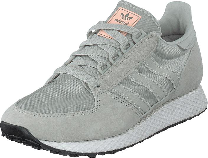 adidas Originals Forest Grove W Ashsil/ashsil/cleora, Skor, Sneakers & Sportskor, Sneakers, Grå, Dam, 39