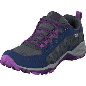 Merrell Lulea Waterproof Acai, Skor, Sneakers och Träningsskor, Walkingskor, Blå, Grå, Dam, 36