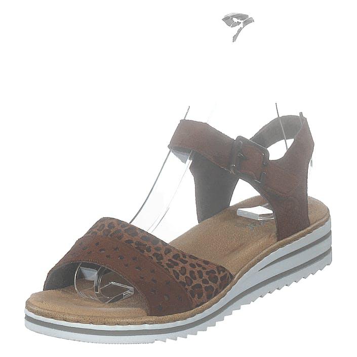 Rieker V0626-24 Leo/brown, Dam, shoes, brun, EU 37