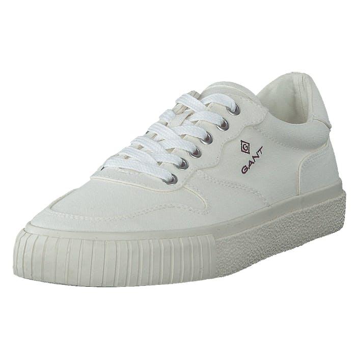 Gant Faircourt Sneaker G20 - Off White, Herr, Shoes, vit, EU 44