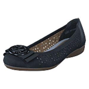 Rieker L8355-00 Nero, Shoes, svart, EU 40