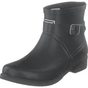 LaCrosse Welly Fashion Buckle Black, Skor, Stövlar och Stövletter, Gummistövlar, Grå, Svart, Dam, 39