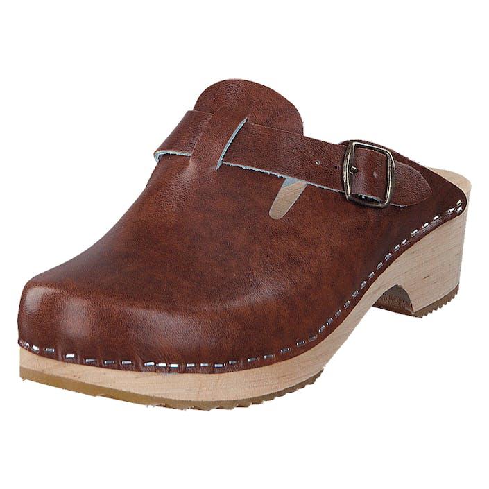 Mohedatoffeln Gothenburg Smooth Antik, Shoes, brun, EU 36