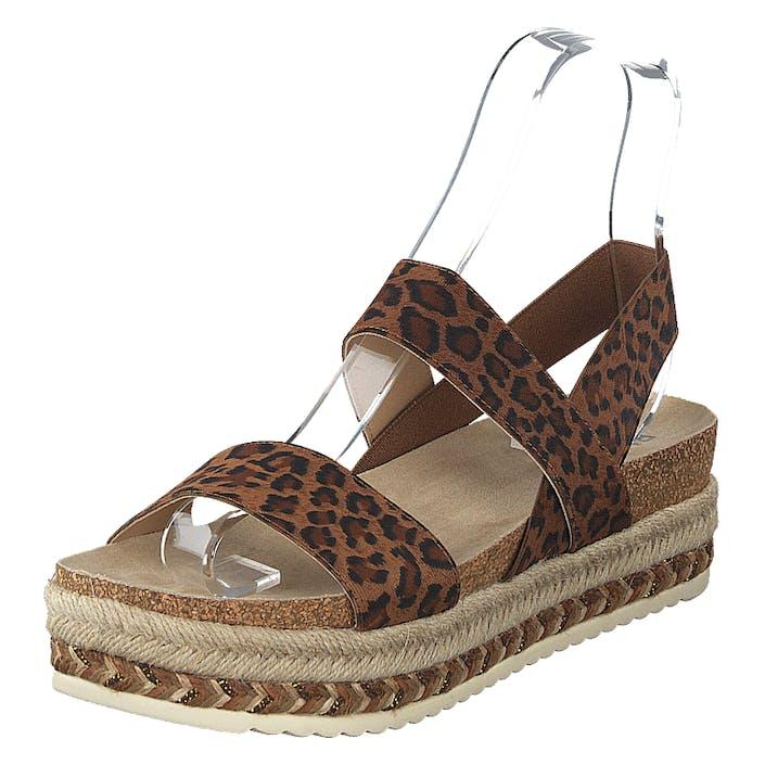 Bullboxer 886032f1t_ttan Tann/leo, Dam, Shoes, brun, EU 37