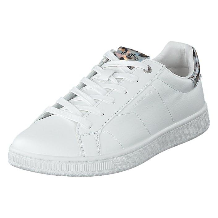 Björn Borg T305 Ird Leo W White/silver, Dam, Shoes, silver, EU 37