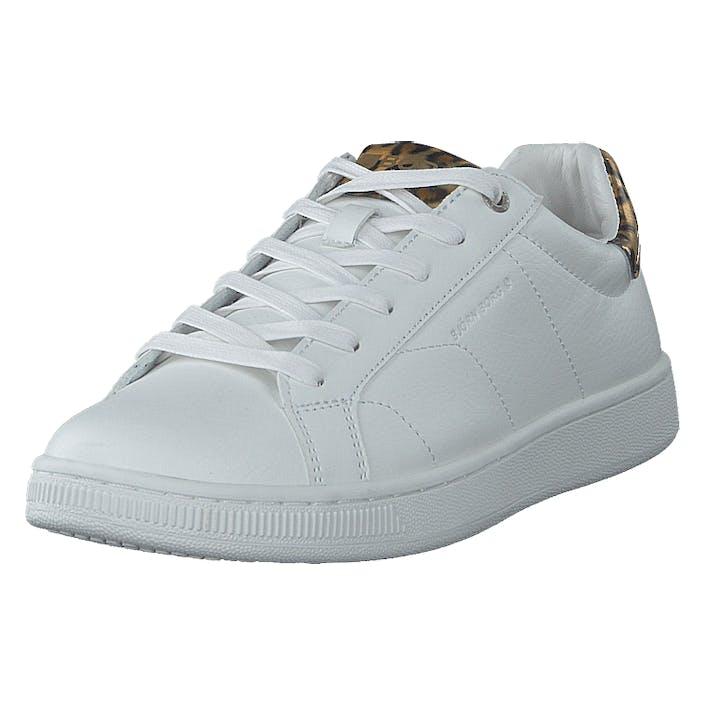 Björn Borg T305 Ird Leo W White/gold, Dam, Shoes, guld, EU 37