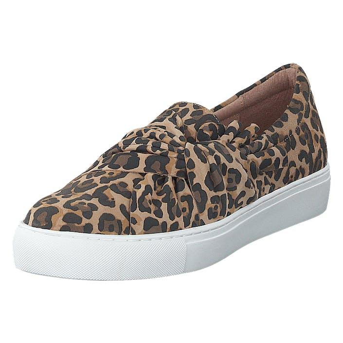 Dasia Starlily Bow Leo, Dam, Shoes, brun, EU 37