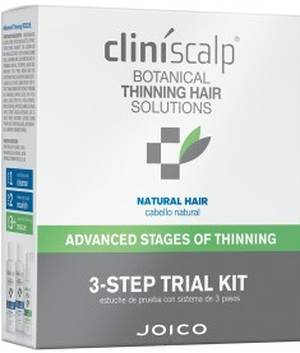 Joico Cliniscalp 3-Step Trial Kit For Natural Hair -  Advanced Stages Of Thinning
