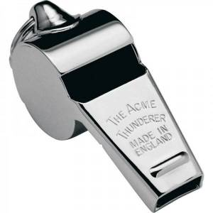 Acme Thunderer Whistle - Brass Small