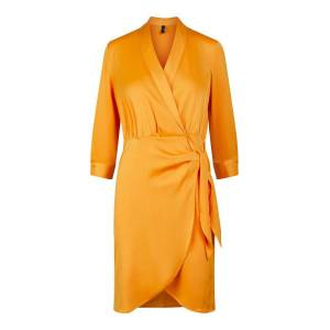 Y.A.S Yascadmi Omlottklänning Kvinna Gul