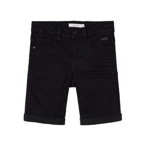 NAME IT Slim Fit Viskosblandade Shorts Man Svart