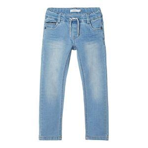 NAME IT Regular Fit Sweatdenimsydda Jeans Man Blå