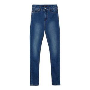 NAME IT Höga Skinny Fit-jeans Kvinna Blå