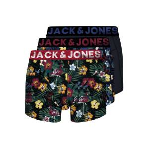 JACK & JONES 3-pack Med Kalsonger Man Blå