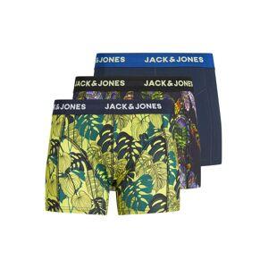 JACK & JONES 3-pack Med Blommiga Kalsonger Man Svart